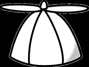 A white cap.