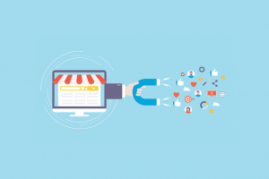 business attracting new customers via different online approaches