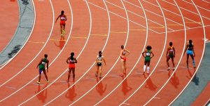 Olimpic race as a representation of importance to use your competitor's backlink profile to gain more links and best your competitors.