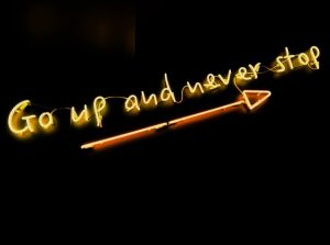 neon sign for link building campaigns